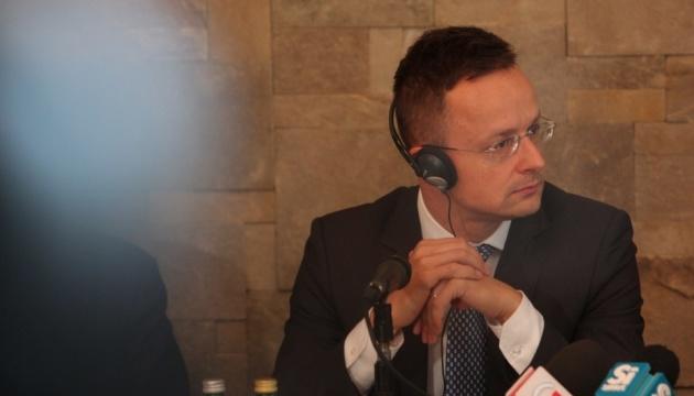 Сийярто отказался комментировать влияние РФ на украинско-венгерские отношения