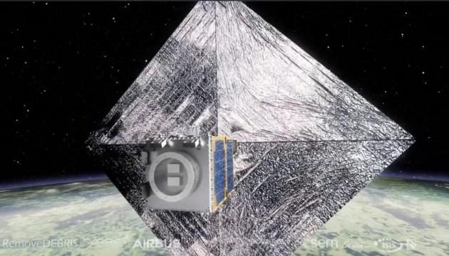 У космос запустили супутник для експериментів з прибирання сміття з орбіти