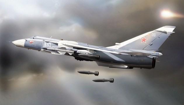 За сутки российские самолеты нанесли около 70 авиаударов на юге Сирии