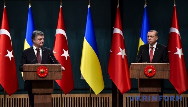 Poroshenko, Erdogan discuss expansion of cooperation between countries