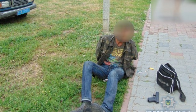 Поліція затримала чоловіків, які влаштували стрілянину в Золотоноші