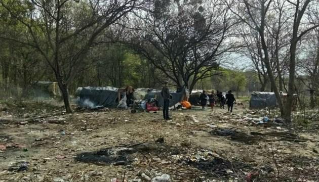 Нападение на ромов под Львовом: суд назначил арест четырем нападающим