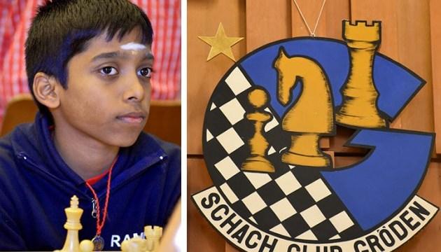 Индийский шахматист вторым в истории завоевал звание гроссмейстера в 12 лет