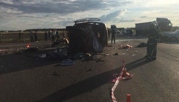 Моторошна ДТП на Рівненщині: 3 особи загинули, 9 постраждали