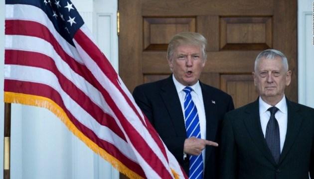 Трамп дозволив Меттісу застосовувати силу на кордоні