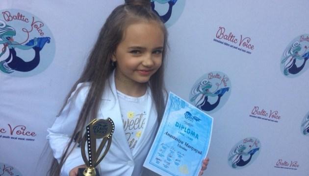 Семирічна українка стала переможницею конкурсу Baltic Voice у Литві
