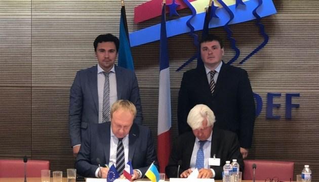 Укравтодор підписав з французькою компанією меморандум щодо будівництва доріг