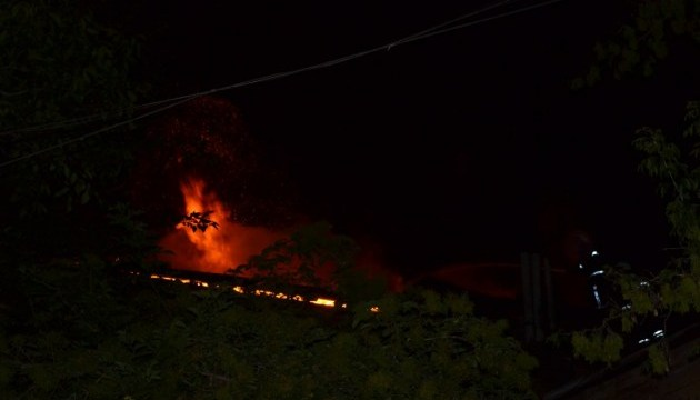В Одессе в жилом доме горело шесть квартир