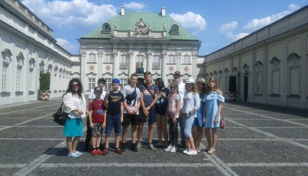 Діти з прифронтової Мар'їнки відпочили у Польщі