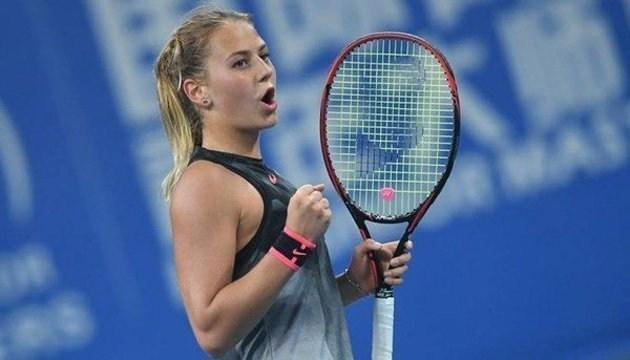 Марта Костюк перемогла американку на старті відбору Вімблдонського турніру