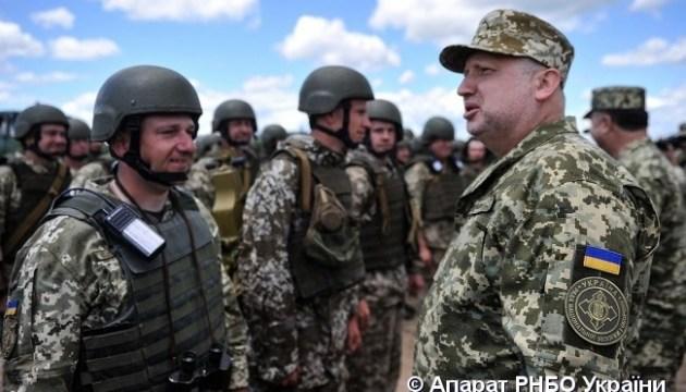 Турчинов розповів про роль тероборони в умовах військового протистояння