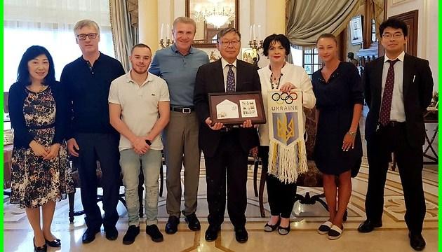 Бубка обговорив з послом Японії в Україні підготовку до Олімпіади-2020 у Токіо