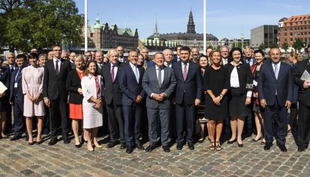 В Копенгагене стартовала международная конференция по вопросам реформ в Украине