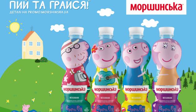 «Пей и играйся!» вместе со свинкой Пеппой и ее семьей