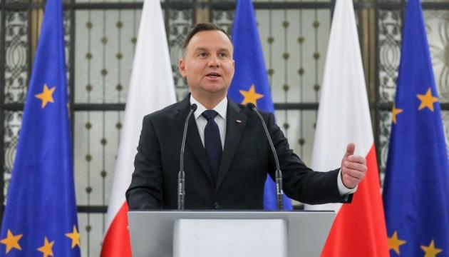 Дуда призвал Трампа увеличить военный контингент США в Польше
