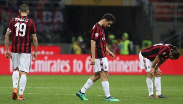 «Милан» на два года отстранили от еврокубков