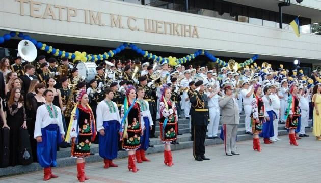 В Сумах проходит Всеукраинский фестиваль духовой музыки