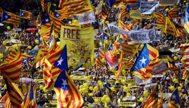 Акції прихильників незалежності Каталонії переросли в заворушення
