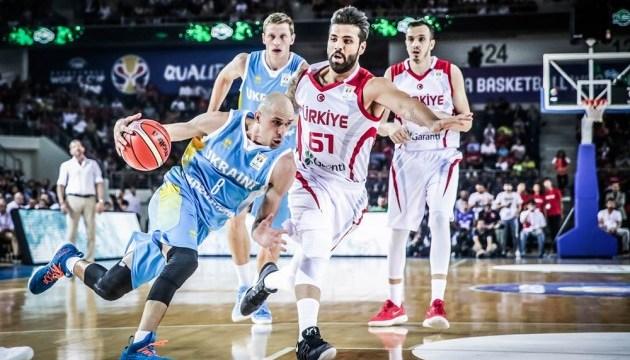 Баскетбол: Украина проиграла в Анкаре Турции в отборе к чемпионату мира-2019
