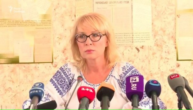 Denisova urges Mijatović to visit Ukrainian hostages in Russia