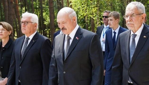 Президент ФРН взяв участь у відкритті меморіалу жертвам нацизму в Білорусі