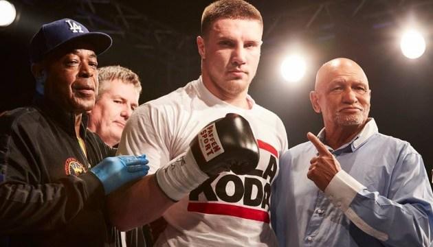 Українець Сіренко здобув перший титул у професіональному боксі