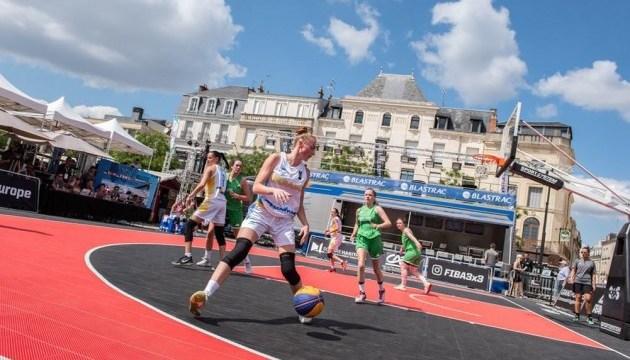 Женская сборная Украины по баскетболу 3х3 обыграла Польшу и Швецию и вышла на Евро