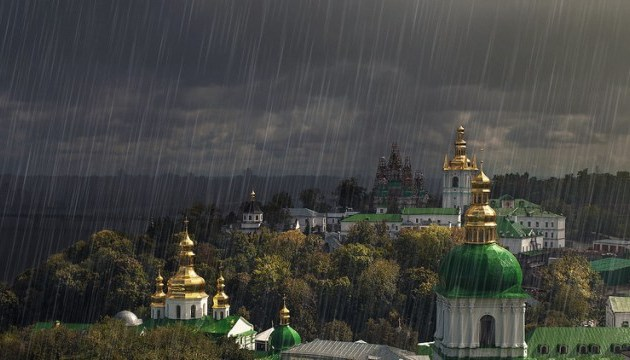 В КМДА кажуть, що негода у Києві триватиме всю ніч