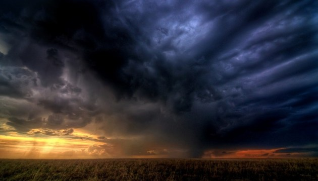Thunderstorms, heavy rains not leave Ukraine
