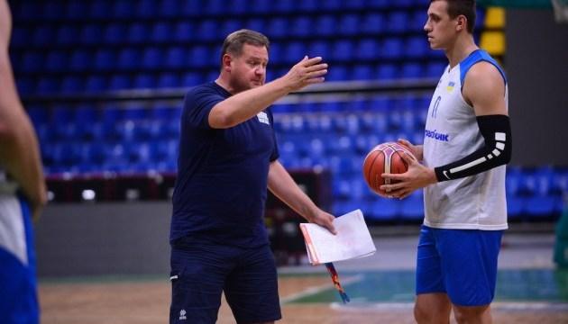 Баскетбол: сборные Украины и Латвии провели тренировки перед воскресным матчем