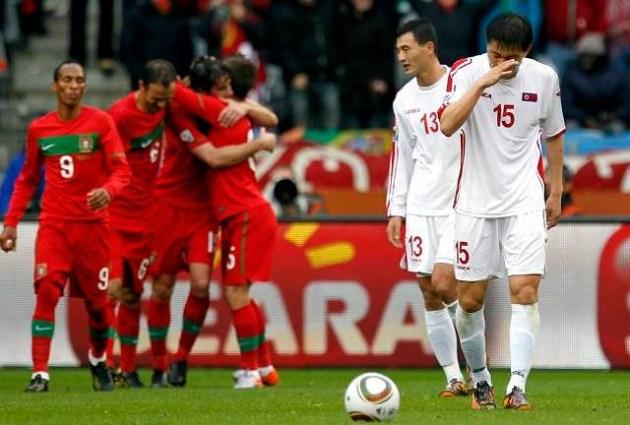 Португалия – КНДР (7:0)