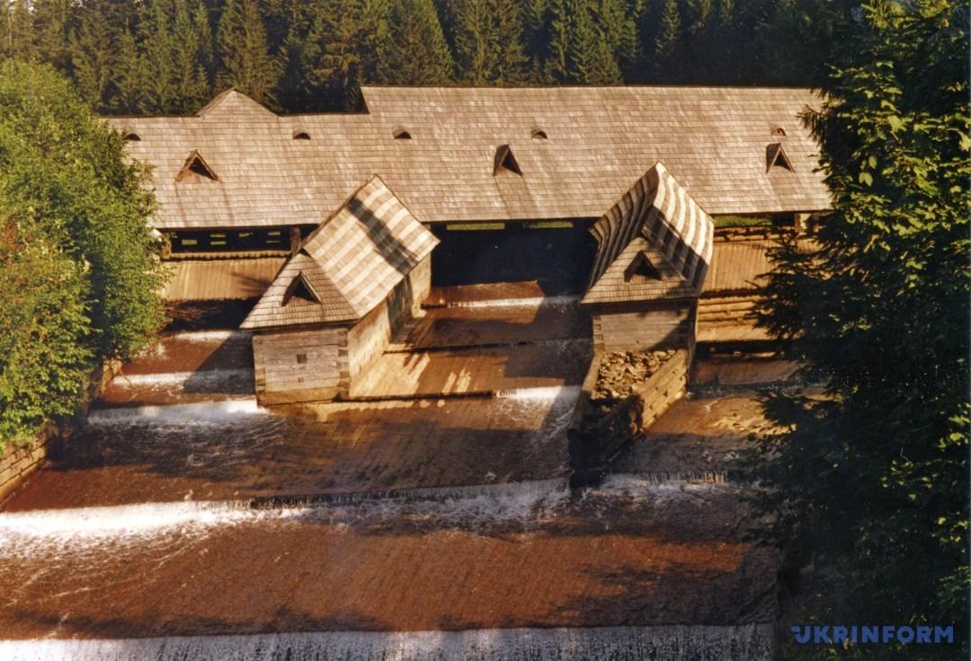 таким був Музей лісу і сплаву до 1998 року