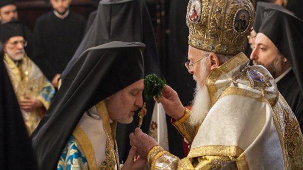 Митрополит Элпидофор и Патриарх Варфоломей