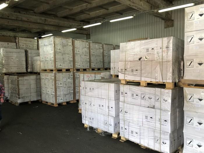 СБУ заблокувала масштабний імпорт в Україну контрафактних пестицидів на суму 18 млн гривень (3 липня 2018 року)