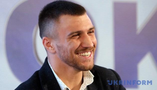 Український боксер, чемпіон світу за версією WBO Василь Ломаченко