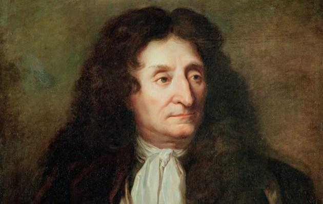 Портрет Жана де Лафонтена з сайту parchemin.ch