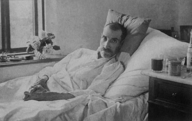 Остання прижиттєва фотографія О. С. Гріна. Старий Крим, червень 1932 р.