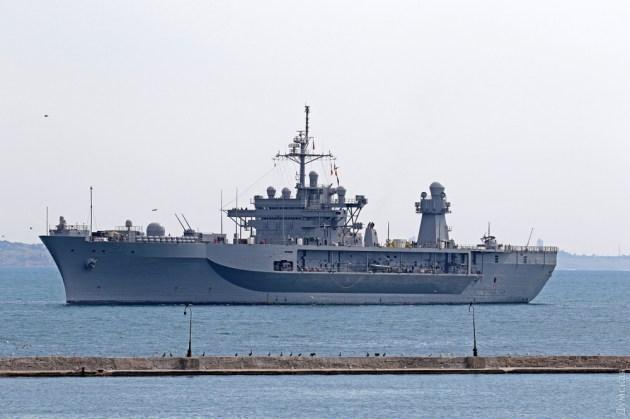 USS Mount Whitney / Фото: dumskaya.net