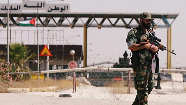 Сирійська армія відновила контроль над трасою Дамаск - Амман