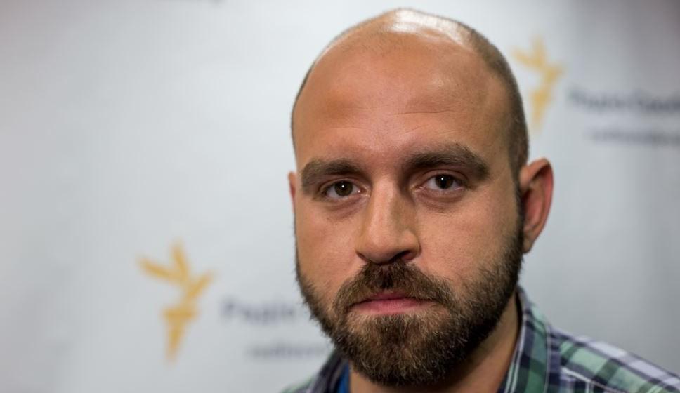 Павло Казарін // Фото: Станіслав Юрченко (RFE/RL)