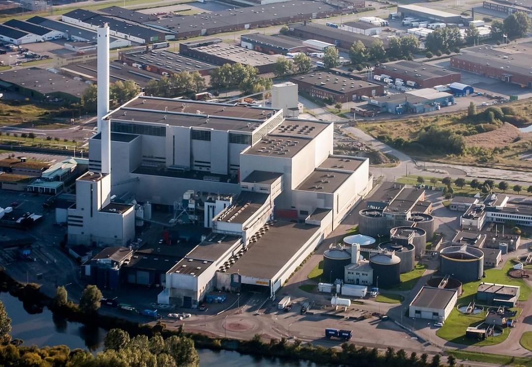 SYSAV waste-to-energy plant