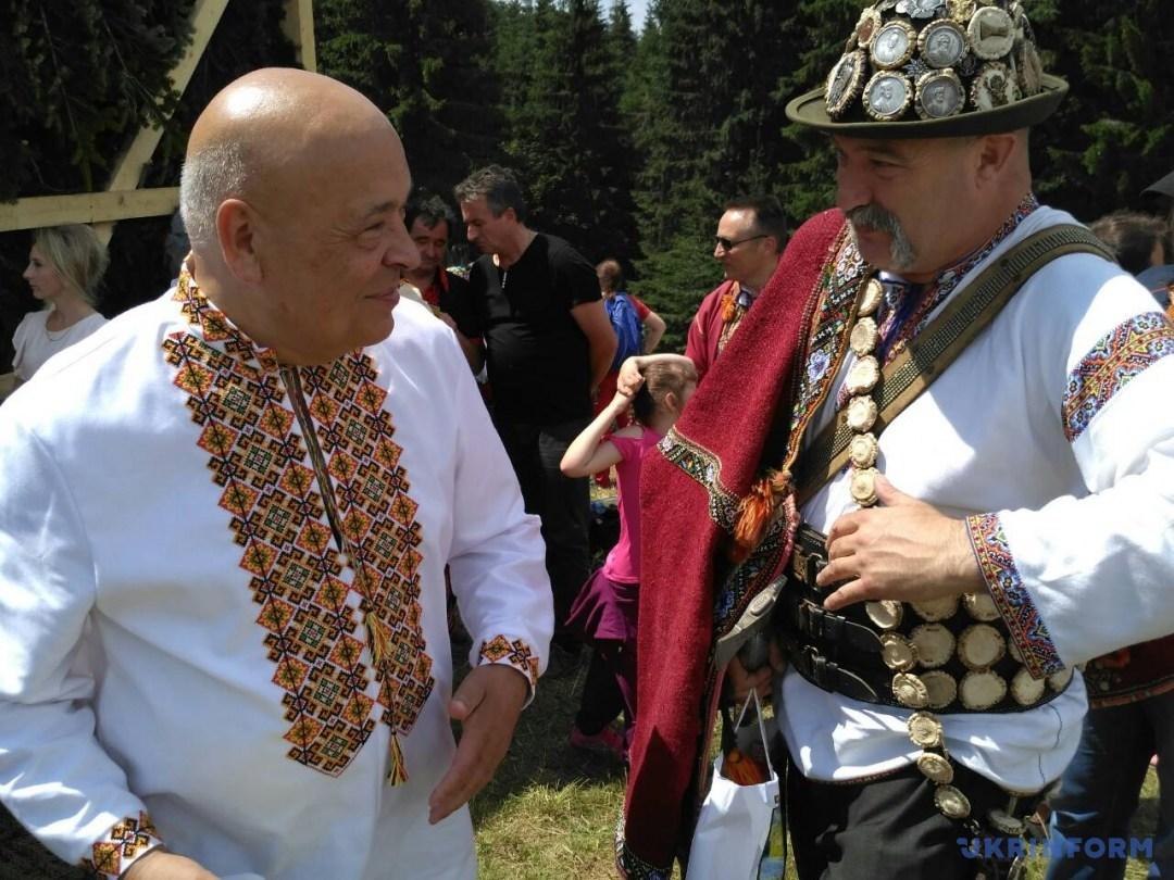 Губернатор Закарпатської області Геннадій Москаль