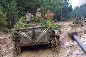 Okupanci 16 razy ostrzelali stanowiska Sił Zbrojnych Ukrainy – strzelali z moździerzy pod Wodjanym