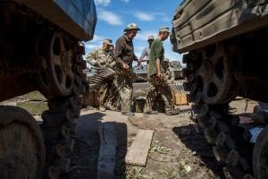 Donbass : un militaire ukrainien tué et un autre blessé