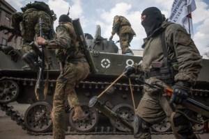 Российские наемники обстреляли автомобиль наблюдателей СЦКК на Луганщине