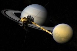 Учені помітили свіжий лід на північному полюсі супутника Сатурна