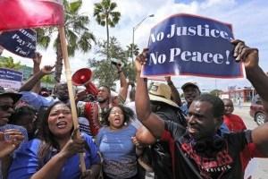 На Гаити протестувуали против президента