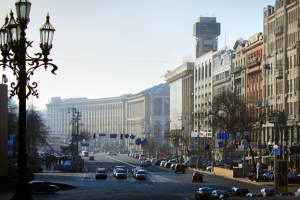 У Києві 7 серпня обмежать рух Хрещатиком