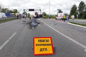 El número de accidentes de tráfico disminuye en Ucrania en 2018