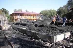 """Пожежа у таборі """"Вікторія"""": потерпілі вимагають майже чотири мільйони компенсації"""
